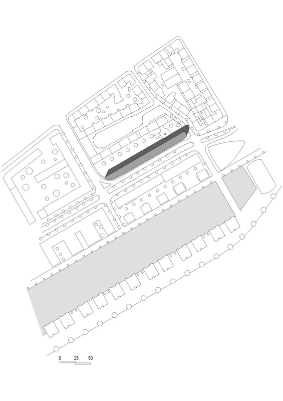 Lageplan (Quelle: HHS Architekten)